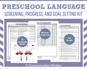 Preschool Language Screening Main Image