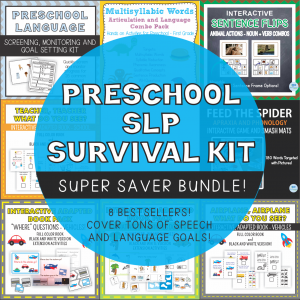 Preschool Survival Kit Cover Large
