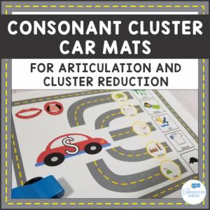 Consonant Cluster Car Mats