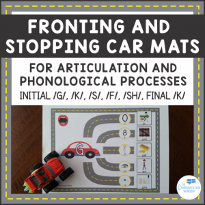 Fronting and Stopping Car Mats Cover