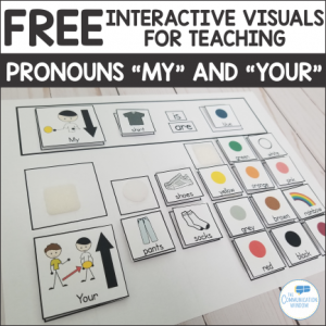 Free Activity for Teaching Pronouns