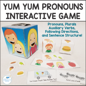 Speech Therapy Game for Teaching Pronouns