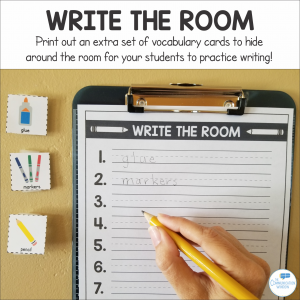 Write the Room Example